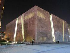 Concreto transparente: Ao permitir a passagem de luz para ambientes internos,