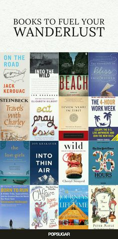 Books to fuel your wanderlust.