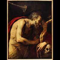 G. B. Crespi, San Girolamo in penitenza, Galleria Spada,Roma