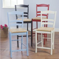 TMS Paloma barstool in red - Furniture & Mattresses - Game Room & Bar Furniture - Bar Stools Counter Height Kitchen Table, Counter Height Stools, Pottery Barn Look, Game Room Bar, Dining Room Colors, 30 Bar Stools, Armless Chair, Bar Furniture, Kitchen Furniture