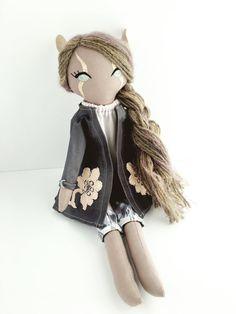 Elven Tales Handmade+Doll+Cloth+Doll+Fabric+Doll+Elf+Doll+Cloth+by+ElvenTales