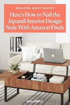 Here's How to Nail the Japandi Interior Design Style Using Amazon Finds | The prettiest home decor trend right now is the Japandi aesthetic, which combines a minimalist, nature-inspired aesthetic with the warm, modern look of Japanese interiors. We turned to Amazon and gathered 11 of the best and highly-rated Japandi furniture and decor that will help update your home at an affordable price. #decorideas #homedecor #decorinspiration #realsimple #smallspaceideas #apartmentideas Decorating Small Spaces, Decorating Ideas, Interior Design Principles, Light Colored Wood, Japanese Interior Design, Home Decor Trends, Nature Inspired, Interior Styling, Home Goods