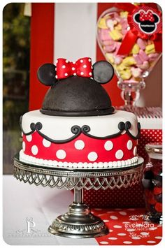 #cake #minnie mouse #disney