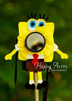 Lens Bling Spongebob Ready to Ship by HappyAcresFarm on Etsy, $21.00