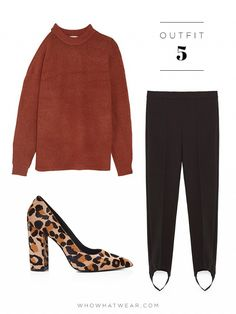 How to wear treggings