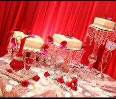 #bridal #cake #afghanwedding #aroosi #red