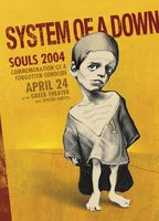 System Of A Down Poster - Greek Theatre, Los Angeles - Sako Shahinian