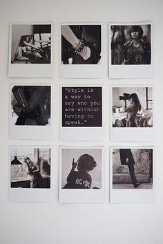 Vosgesparis: polaroid collage