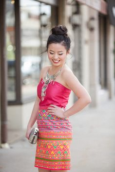 Hey, I found this really awesome Etsy listing at https://www.etsy.com/listing/186671718/modern-hmong-outfit-sweetheart-strapless