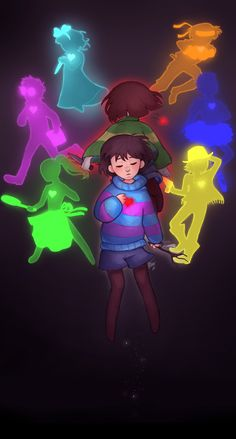 Undertale -- Frisk, Chara and the six Souls