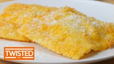 Deep Fried Camembert Ravioli   Twisted - YouTube