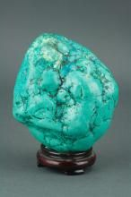 Chinese Large Natural Turquoise Stone