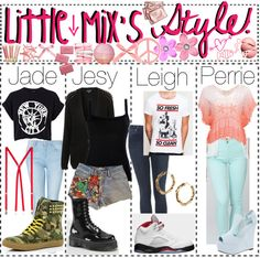 """""""LiTTLE MiX'S STYLE!"""" by totally-tipsy-girls ❤ liked on Polyvore"""
