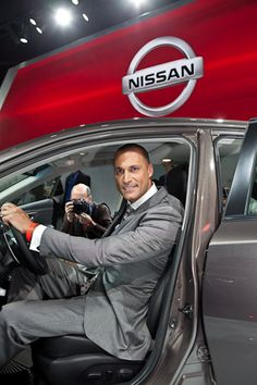 Nigel Barker, Photographer and Judge of America's Next Top Model joins Nissan at the reveal of their next top-selling model-- the 2013 Nissan Altima Nissan Altima Coupe, America's Next Top Model, Win A Trip, Keynote Speakers, Automotive Group, Sexy Men, Kicks, My Love, Arizona