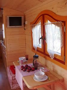 Interior of Caravan in Provence