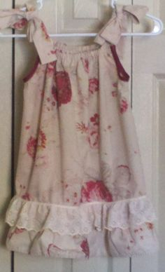 Pillowcase dress I made for LDFA