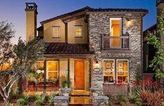 fachadas-de-las-casas-más-bonitas-y-modernas-casa-rustica #cocinasmodernaschicas