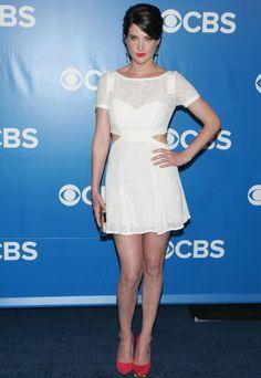 Cobie Smulders - CBS Upfronts 2012 in Rebecca Minkoff