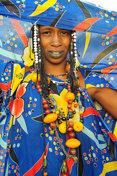 Peul woman from Mali