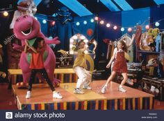Feb 05, 1998; Hollywood, CA, USA; Image from director Steve Gomer's family film 'Barney's Great Adventure'. Stock Photo