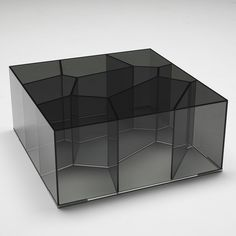 Alice occasional tables designed by Jean-Marie Massaud for Glas Italia