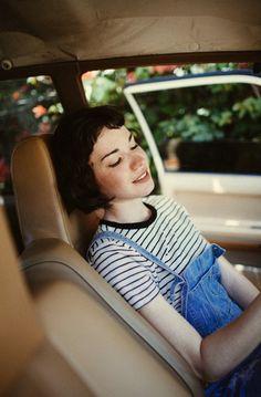 Raven Cycle - Blue in Gansey's car