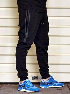 Nike Tech Pants Black streetstyle menswear: