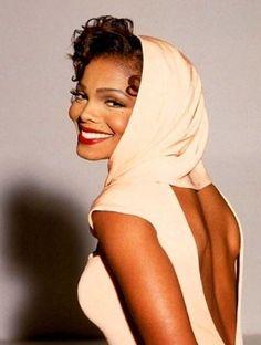 Gorgeous! ~ Janet Jackson Dorothy Dandridge Style