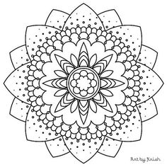117 | Printable Intricate Mandala Coloring Pages, Instant Download, PDF, Mandala Doodling Page, Adult Coloring Pages, Kids Coloring Pages