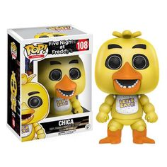 Five Nights at Freddy's Chica Pop! Vinyl Figure - Funko - Five Nights at Freddys - Pop! Vinyl Figures at Entertainment Earth