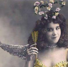 vintage cupid fairy?