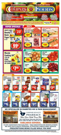 Compare Foods Weekly Ad October 9 - 15, 2015 - http://www.olcatalog.com/compare-foods/compare-foods-weekly-ad.html
