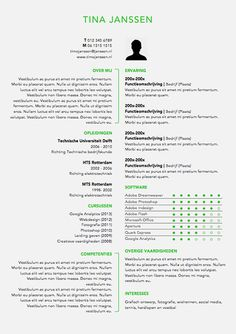 CV sjabloon MS Word Great Resumes, Infographic Resume, Multimedia, Curriculum, Words, Creative, Life, Resume Cv, Resume