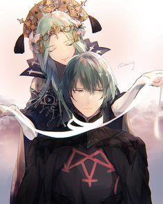 今井 (@_imaing) / Twitter Shinshi Doumei Cross, Character Art, Character Design, Fili And Kili, Fire Emblem Games, Fire Emblem Characters, Blue Lion, Fire Emblem Awakening, Fanarts Anime