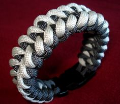 """Not my """"List"""" but a friend and Veteran makes these, I've nabbed several from him and highly recommend! Veteran Made (Shark Jaw) Paracord Bracelet with Heavy Duty 1/2"""" Buckle!"""