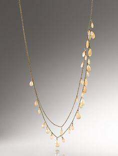 Love the cut of the stones and the color would go with lots of things. $49.00