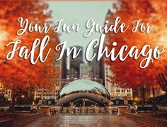 Fall is the best in Chicago! Here's your guide to the best fall activities to do and how to celebrate the autumn season. (Plus, a $100 gift card giveaway!)