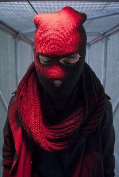 School Assignment Fashion - Goth Ninja - Model: Marten Frederix  Domien Vandoren