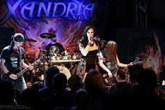 Symphonic Metal Band Xandria live in der Matrix in Bochum