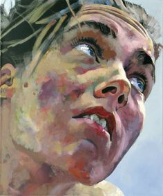 Diagonal, acrylic on canvas, 120 x 100 cm, 2006