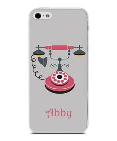 Take a look at this Old Telephone Personalized Case for iPhone 4/4S on zulily today!