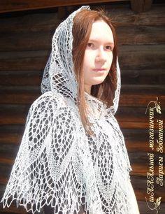 шааальной магазинчик, шаль для храма, платок для храма, платок для венчания, платок ажурный, накидка на голову