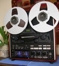 """TEAC- X2000R ,Vintage High End Reel To Reel Deck"" !...  http://about.me/Samissomar"