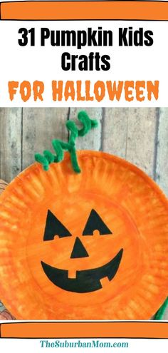 Jack-O-Lantern is making a comeback! Because what's Halloween without some pumpkin carving, right? Check out the blog for details on over 31 Pumpkin Kids Crafts For Halloween. With this wide collection of Halloween activities, DIY crafts and toddler activities, simply take your pick and see what these fun crafts can do to transform the special occasion! Not only do these serve as Halloween decorations, they're extra fun to make too!#halloweenideas Halloween Crafts For Kids, Holidays Halloween, What's Halloween, Fun Crafts, Halloween Decorations, Party Activities, Halloween Activities, Toddler Activities, Pumpkin Carving