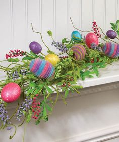 This Easter Egg Garland is perfect! #zulilyfinds