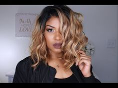 $28 Freetress Equals Trixie Wig review | Beyoncè inspired Hair - YouTube