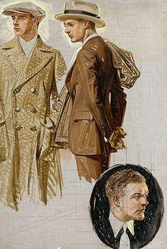 Artist: J. C. Leyendecker by texasadam, via Flickr