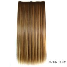 $7.10 www.rosegal.com/hair-extension/fashion-long-straight-6h27h613-heat-187781.htmlFashion Long Straight 6H27H613 Heat Resistant Synthetic Hair Extension For Women