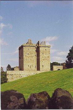 Borthwick Castle, Midlothian Scotland