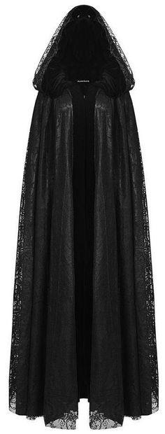black lace & velvet hooded cape <3                                                                                                                                                                                 More